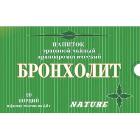 БРОНХОЛИТ - напиток травяной пряноароматический